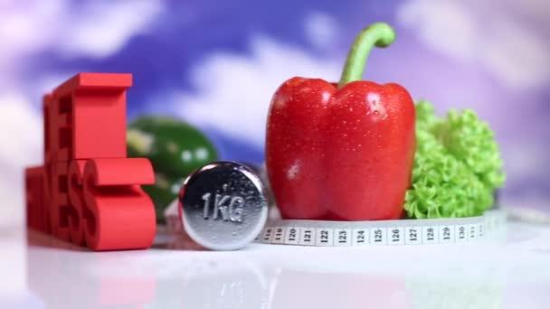 Ernährungs- und Fitnesskonzept