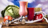Fotografie Zdravá strava, protein třese