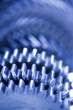 Gears, industrial mechanism