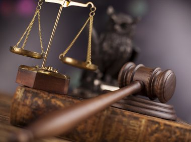 Legal system, mallet of judge