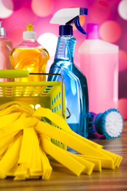 Cleaning products for home work
