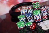 Poker žetony s ruletou