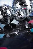 glänzende Discokugeln