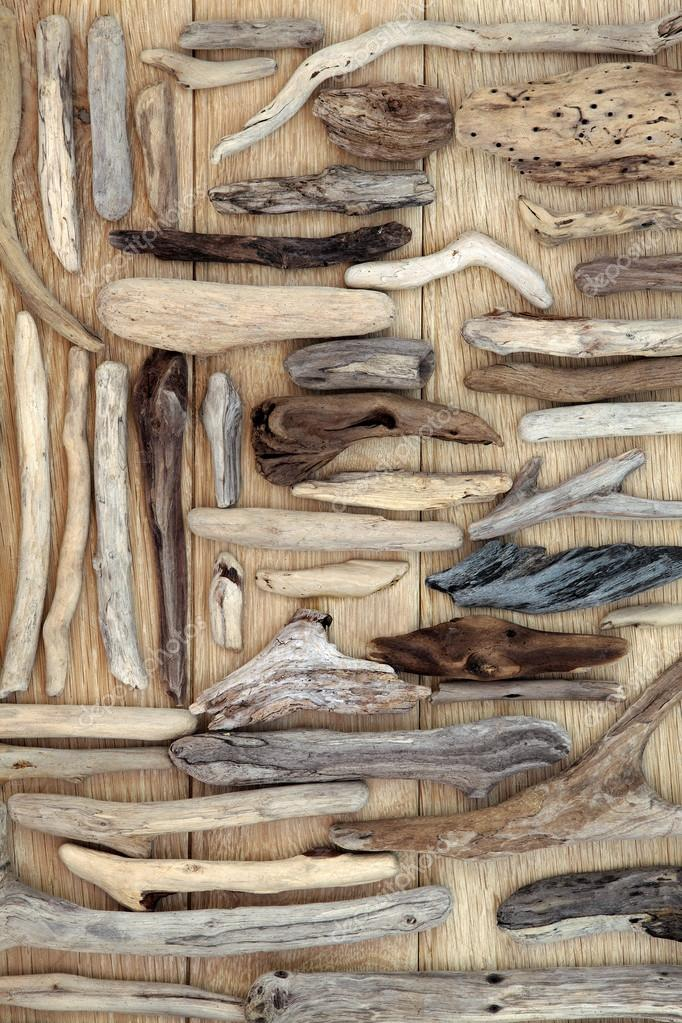 Driftwood Abstract Background