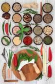 Čerstvé a sušené bylinky a koření