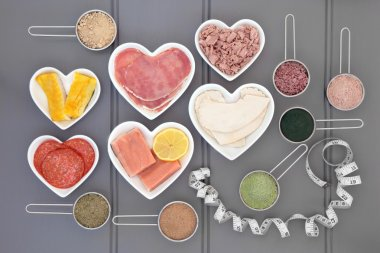 High Protein Food and Supplement Powders