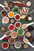 Koření a kořenící byliny potravin