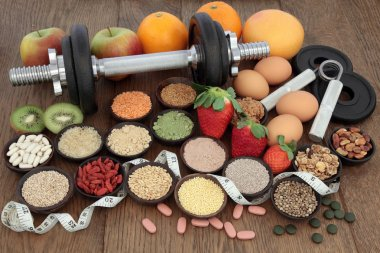 Diet Health Food and Training Regime