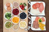 Potravin bohatých na bílkoviny zdravá strava