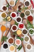 Zdravé bylinky a koření