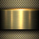 Hintergrund gold metall textur
