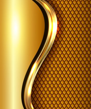 Abstract business background gold