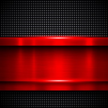 Background red metal
