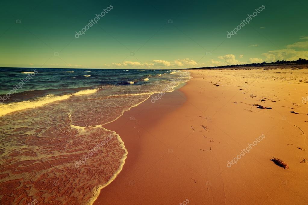 Baltic sea beach
