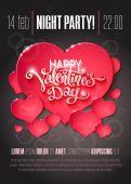 Valentine den oznámení