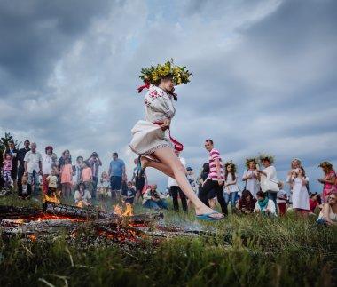 Ivana Kupala geleneksel Slav kutlamaları