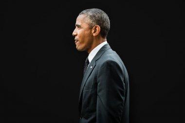 Barack Obama at the NATO summit in Newport