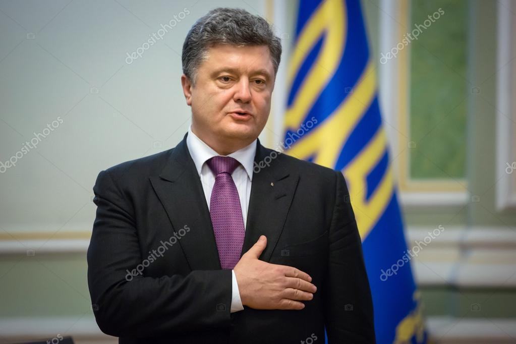 Petro Poroshenko on New Year's reception for the diplomatic head