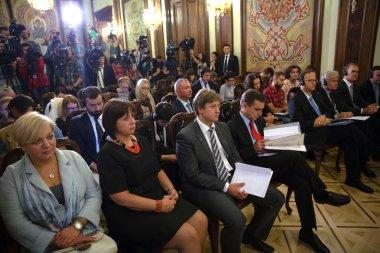 Press Conference of Christine Lagarde and Petro Poroshenko