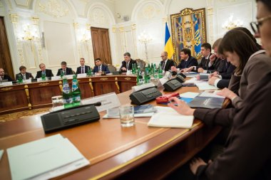 National Council of the reforms in Kiev. Ukraine