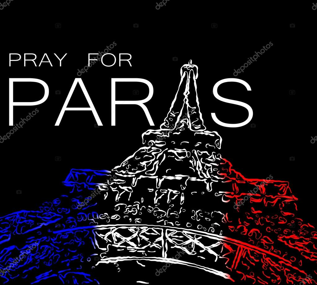 pray for paris stock photo palinchak 90184270