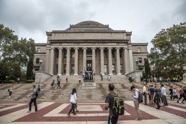 Library of Columbia university, New York City, USA