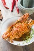 Asijský styl pikantní chilli kraba