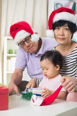 Asian grand parents