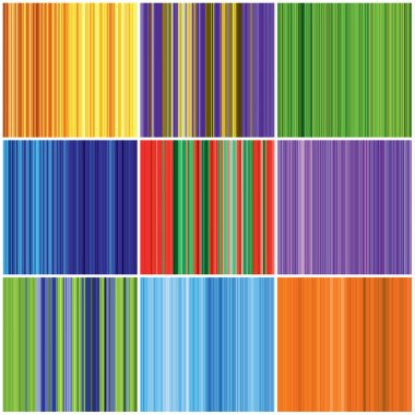 Color stripes seamless backgrounds