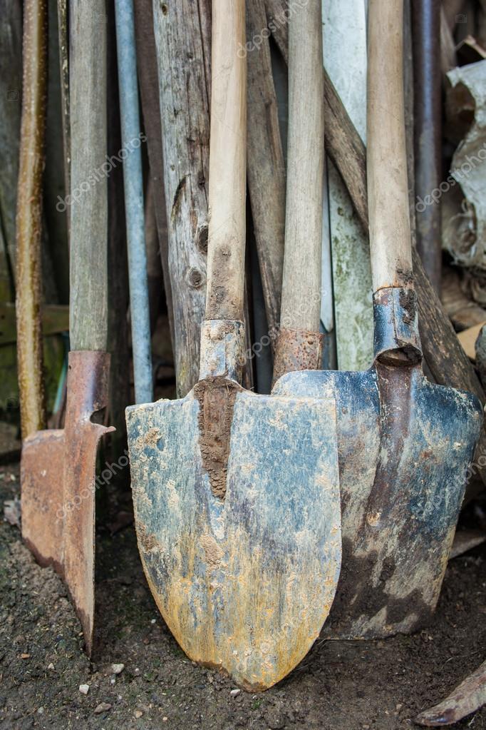 Herramientas jardiner a oxidadas foto de stock xalanx - Herramientas de jardineria 94 ...