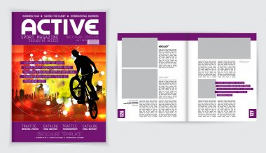 Cover sport active magazine