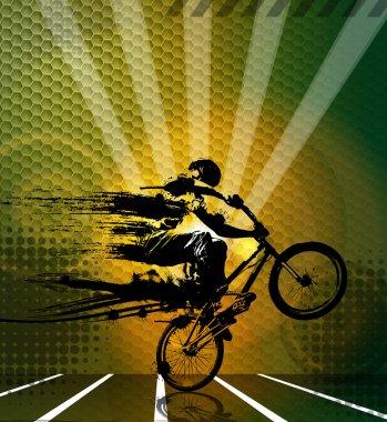 Sport bike illustration