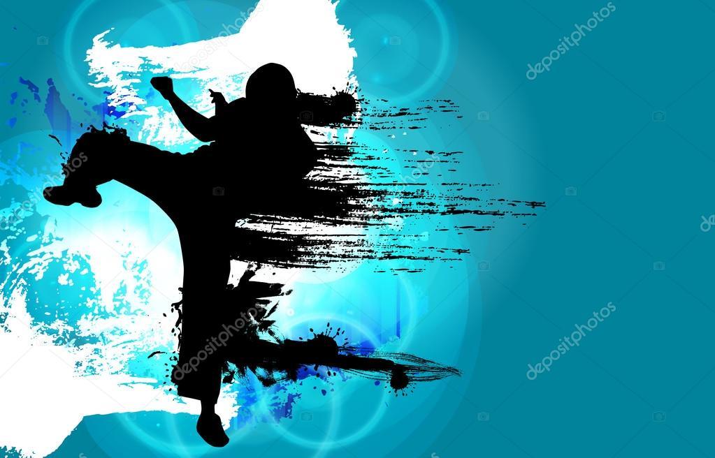 Karate background