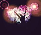 Fotografie pozadí s tancem lidí