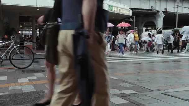 crowds on Takeshita street of Harajuku in Tokyo