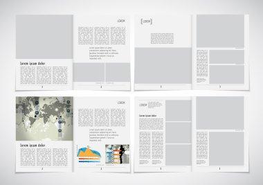 Business magazine layouts