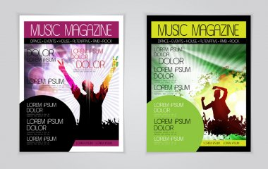 Musical magazine covers