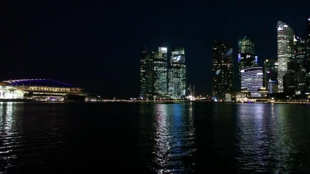 Singapore City over Marina Bay