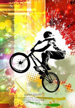 BMX trick illustration