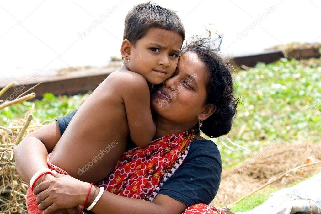 Indian mother with baby – Stock Editorial Photo © zeber2010 #73632169