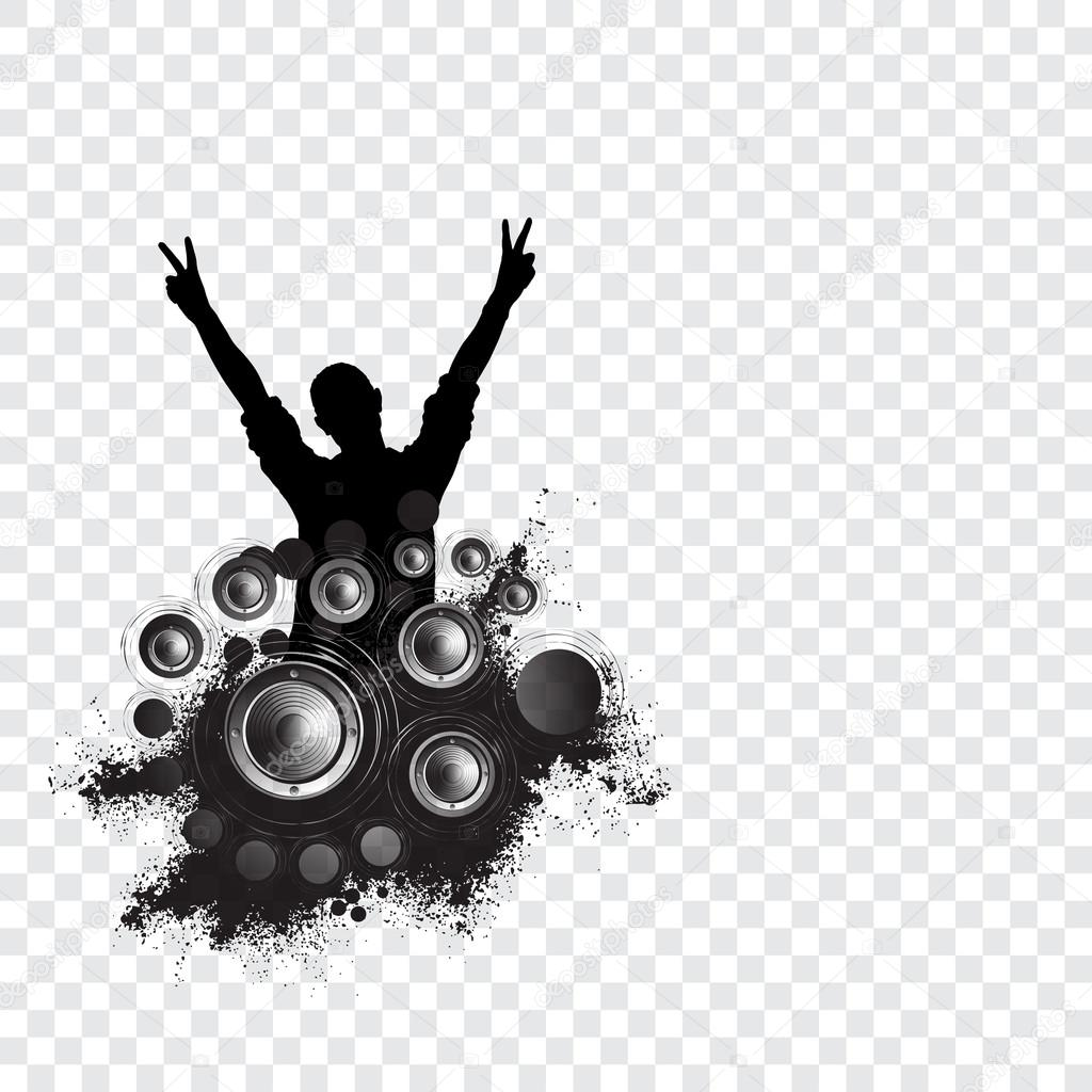 Music Event Background For Poster Or Banner Stock Photo