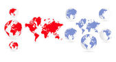 Fotografie Weltkarte Hintergrund