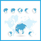 Fotografie World map background
