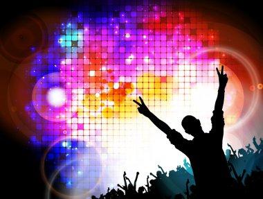 Big music event illustration