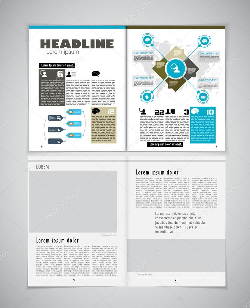 Plantilla de diseño diario — Vector de stock © zeber2010 #90965102
