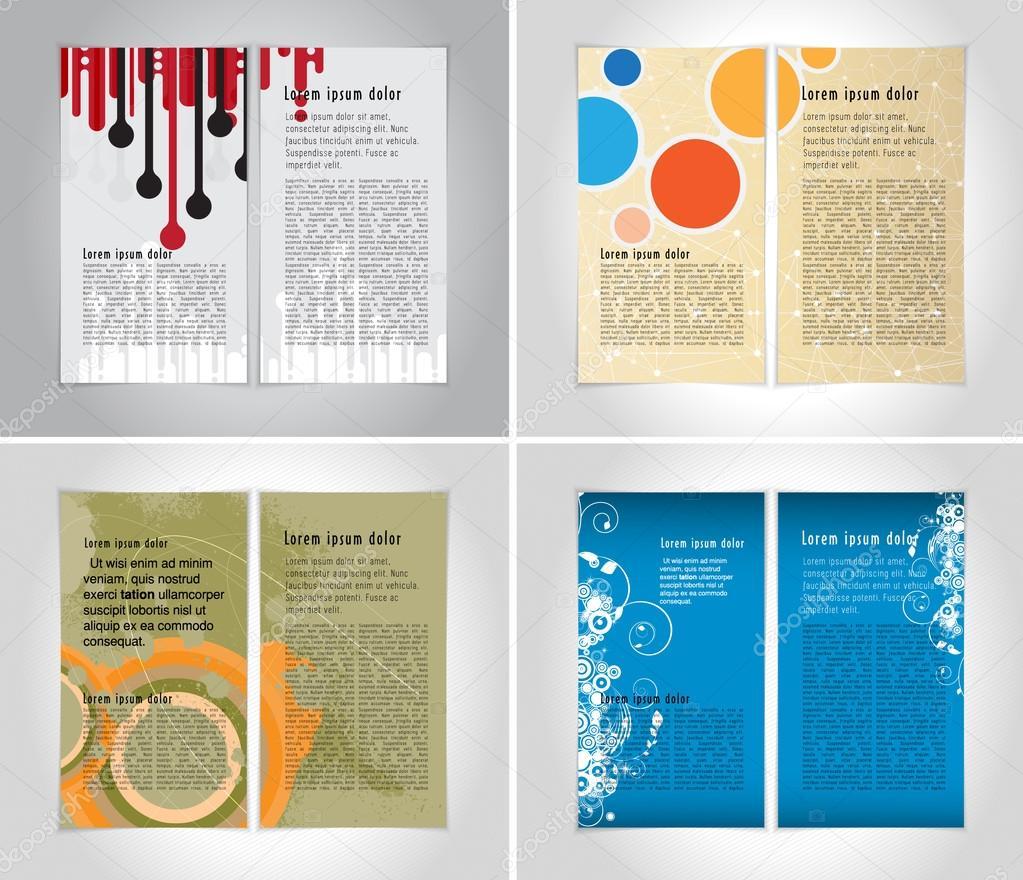 Plantilla de diseño folleto — Vector de stock © zeber2010 #99498000