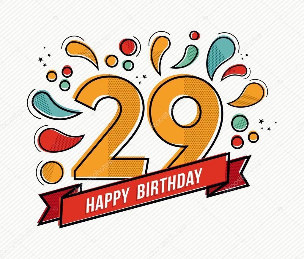 День рождения 29 лет поздравление