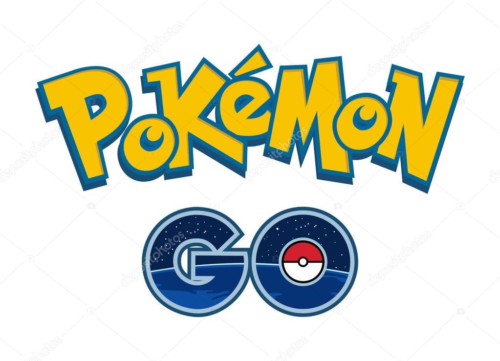 Stock Illustration Pokemon Go Logo Vector