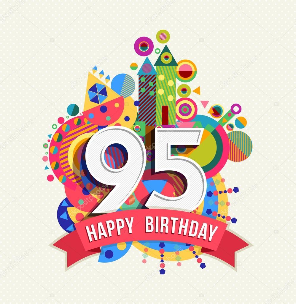 Auguri Di Buon Compleanno Nonna 90 Anni.Colore Di Manifesto Cartolina D Auguri Di Buon Compleanno