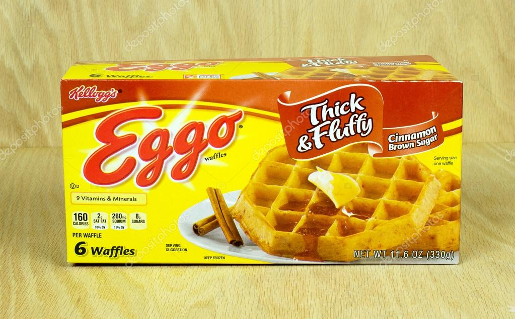 Eggo breakfast waffles
